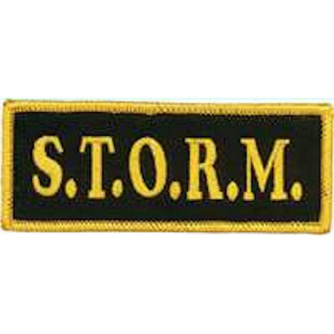 S.T.O.R.M. Team Patch - BlackBeltShop