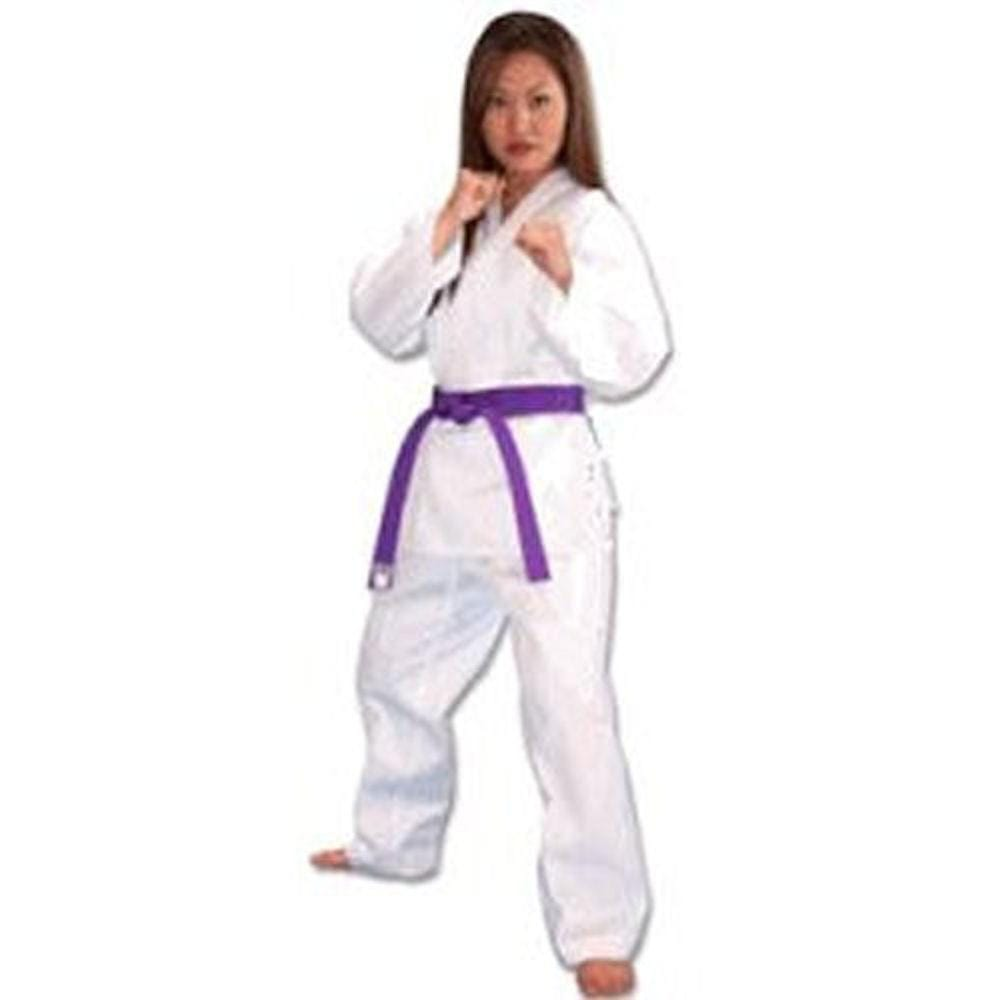 Middle Weight Poly/Cotton Martial Arts Karate Uniform - BlackBeltShop