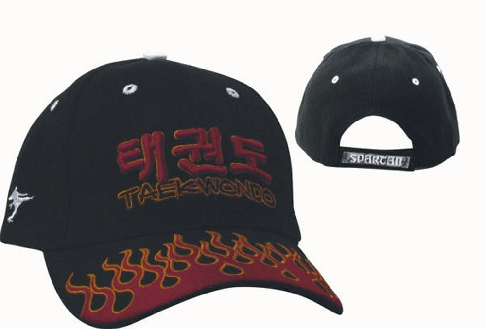 Spartan TKD Flame Hat - BlackBeltShop