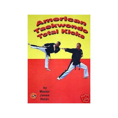 Taekwondo Total KicksTraining DVD Video karate - BlackBeltShop