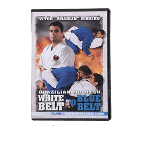 Brazilian Jiu-Jitsu White Belt to Blue Belt DVD's - BlackBeltShop