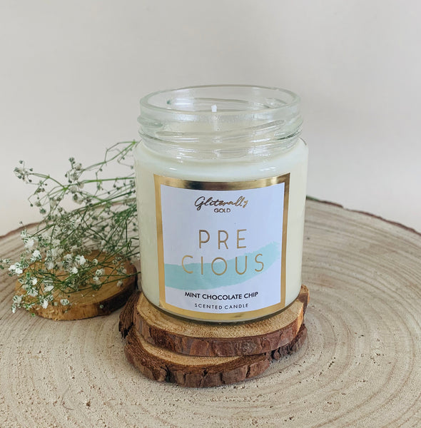 Precious - Mint Chocolate chip Scented candle
