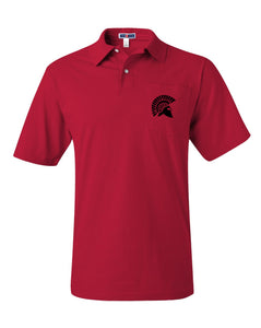 Golf Shirt - Red Adult/Youth