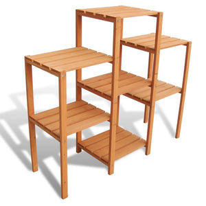 Free shiping Bamboo Customizable Plant Stand Shelf Flower Pots Holder Display Rack Utility Shelf Bathroom Rack 7-Tier Storage Rack Shelving Unit