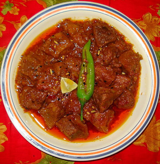 Your Favourite Pakistani Achar Gosht Recipe