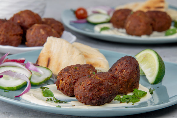 Kofte: the Turkish meatballs.