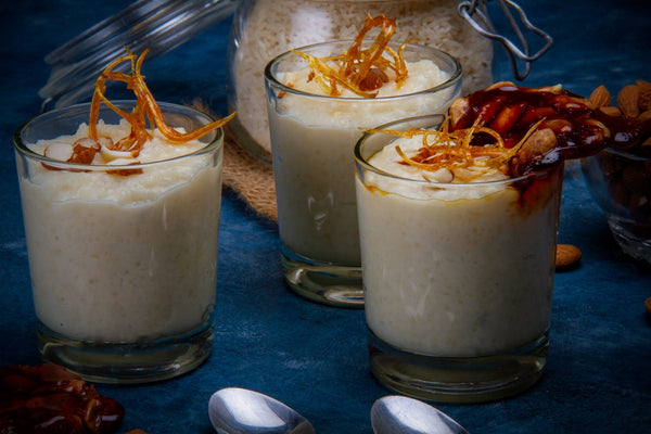 Phirni, delicious rice pudding