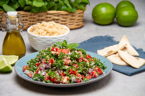 Tabbouleh the most famous salad