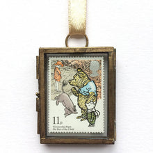 Load image into Gallery viewer, Winnie the Pooh Framed Vintage Postage Stamp