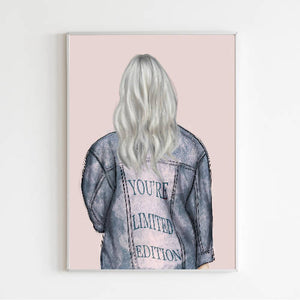 You're Limited Edition Fashion Print