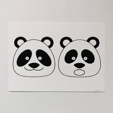 Load image into Gallery viewer, Panda (Black)