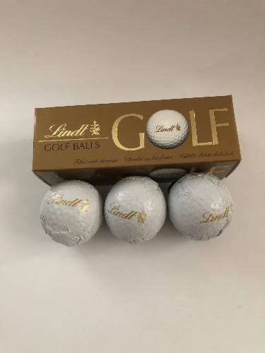 Box of 3 Lindt Golf Balls