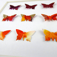 Load image into Gallery viewer, 9 Orange Butterflies
