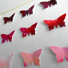 Load image into Gallery viewer, 9 Red Butterflies