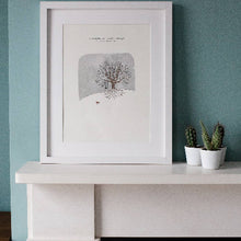 Load image into Gallery viewer, Winter Tree A3 print