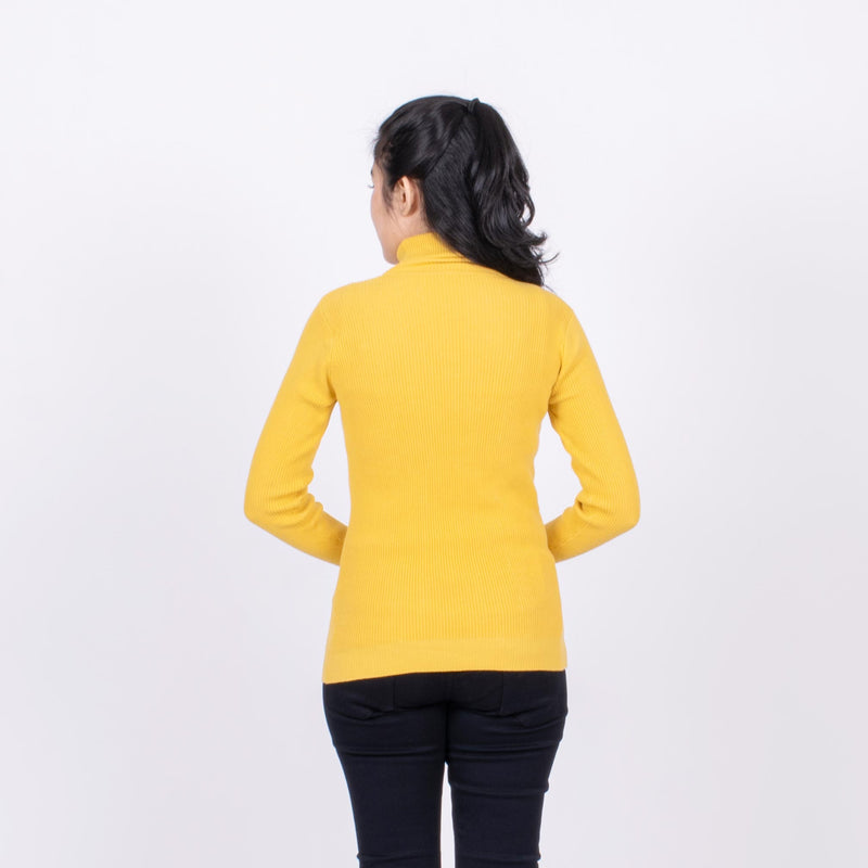 Sweater Wanita Turtle Neck