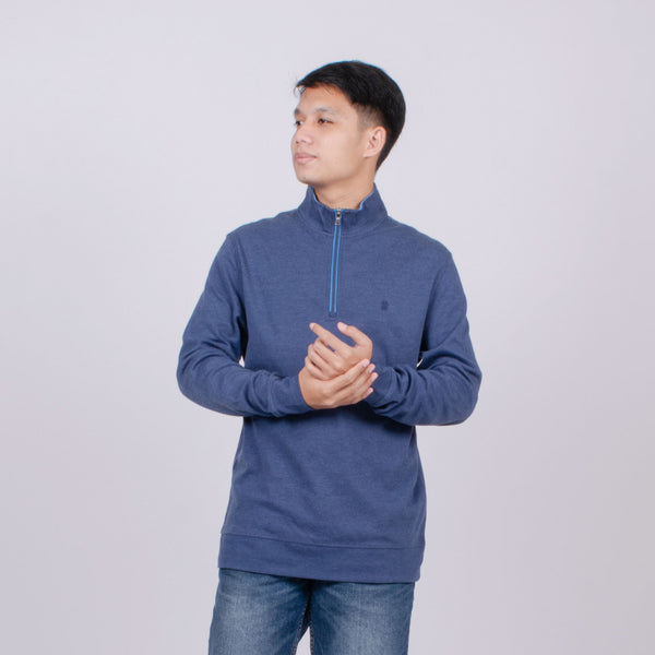 Sweat Shirt Pria Resleting