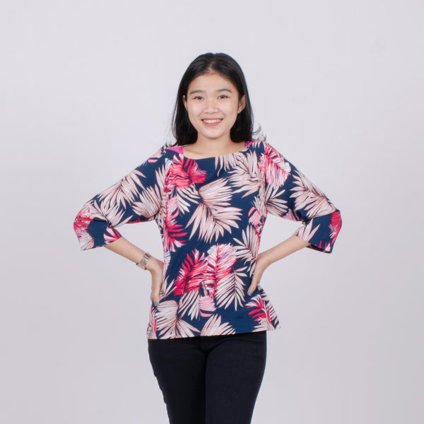 Blouse daun pakis