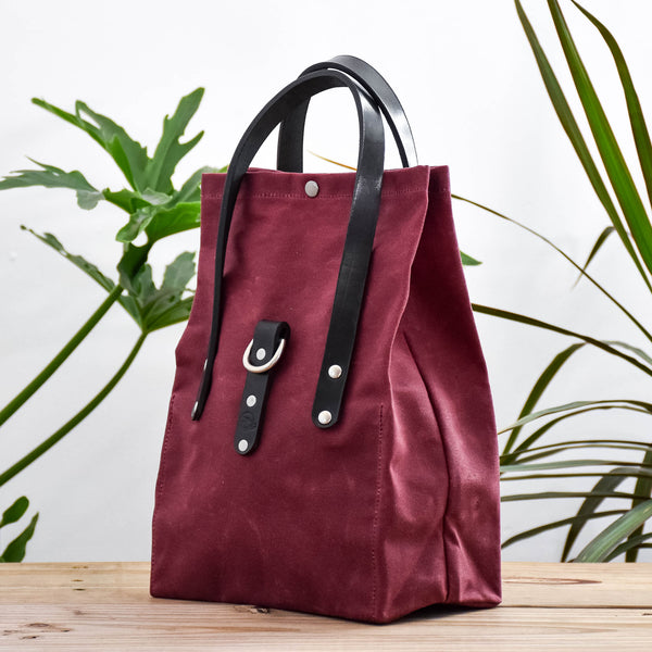 Burgundy Bag No. 2 - On the Go Bag