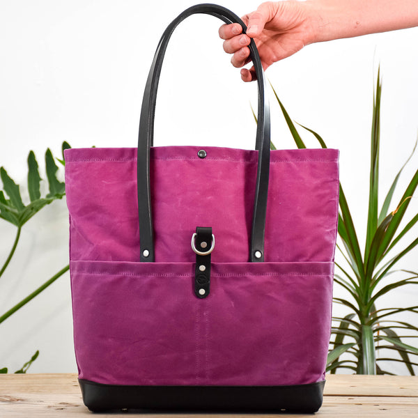 Deep Fuchsia Bag No. 3 - The Everywhere Bag