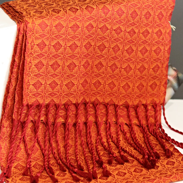 Red and Orange Scarf