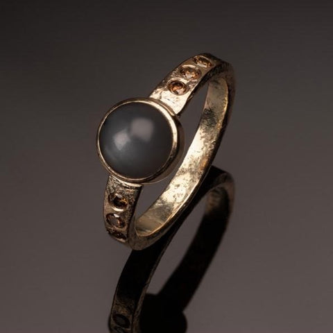 James Dougall Moonstone ring