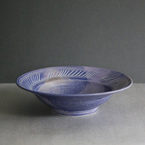 Small Cut Lines Bowl