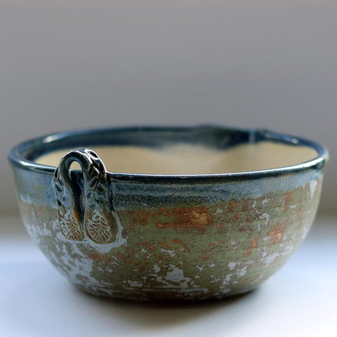 Stoneware Pouring Bowl by Kim Lim