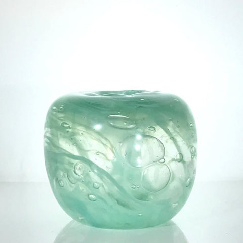 Apple Glass Vase by Alison Vincent