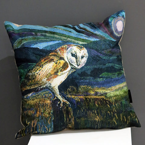 Owl Cushion by Rachel Cushion