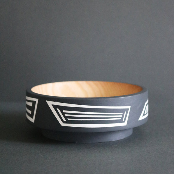 Grey and White Ash Dish
