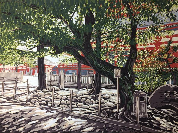 Sensoji Trees by Alexandra Buckle