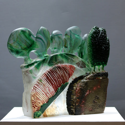cast Glass sculpture