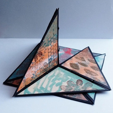 Folding Sculpture by Heather Hunter