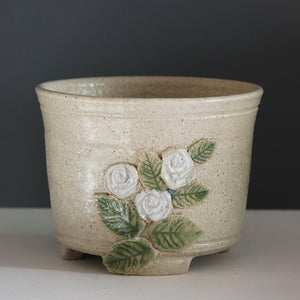 Stoneware Planter by Kim Lim