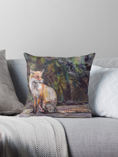 Resting A While cushion by Rachel Wright