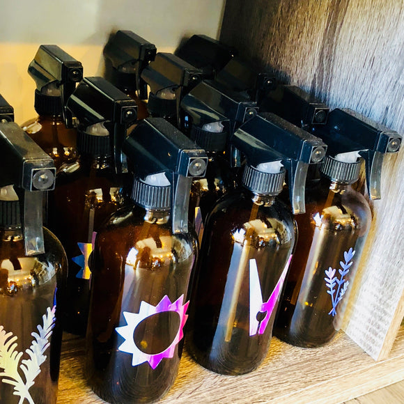Bath & Body Spray Bottles - Sample