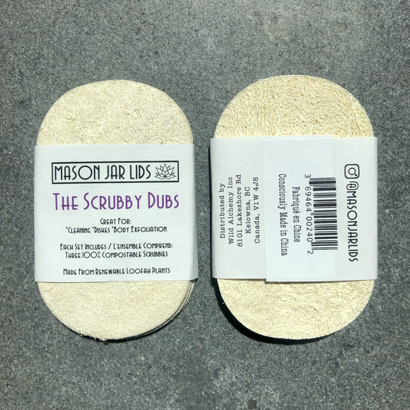 The Scrubby Dubs - Compostable Cleaning Scrubbies