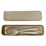 UNLABELLED Wheat Straw Cutlery Kits