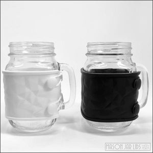 Silicone Mason Jar Wrap - Sample