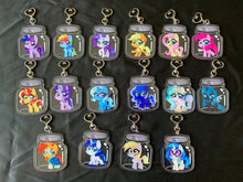 Load image into Gallery viewer, Pony Jar Keychains