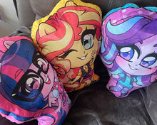 Load image into Gallery viewer, Stuffed Shaped Pillows EQUESTRIA GIRLS