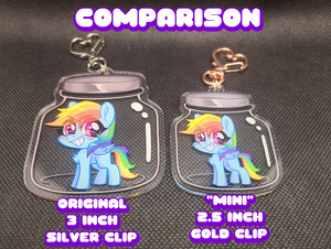Jar Keychain MISPRINT MINI SALE
