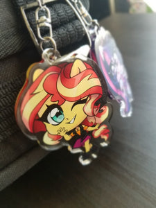 Equestria Girls Keychains Mane Eight