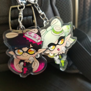 Splatoon Keychains