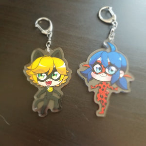 [LAST CHANCE] Miraculous Keychains