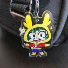 Load image into Gallery viewer, Deku Keychain