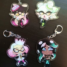 Load image into Gallery viewer, Splatoon Keychains
