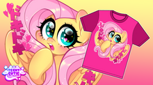 Load image into Gallery viewer, Doki Doki Fluttershy Shirt