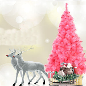 1.5M Christmas Party Home Decoration Multicolor Tree With Iron Feet Ornament Toys Kids Children Gift